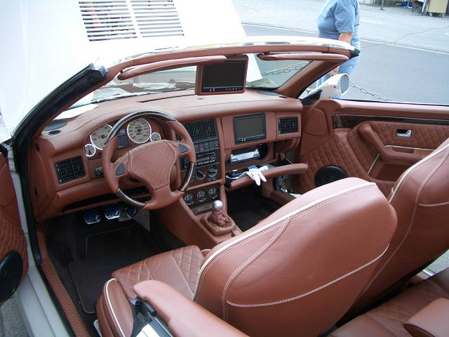 audi 80 cabrio showcar mit gfk und high end. Black Bedroom Furniture Sets. Home Design Ideas