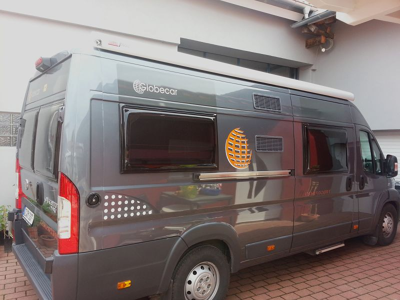 Wohnmobil Fiat Ducato Campscout Musikanlage